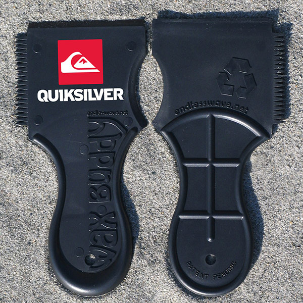 quiksilver cobranded wax comb
