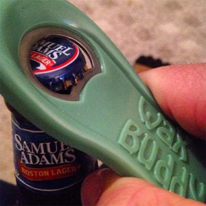 wax buddy bottle opener