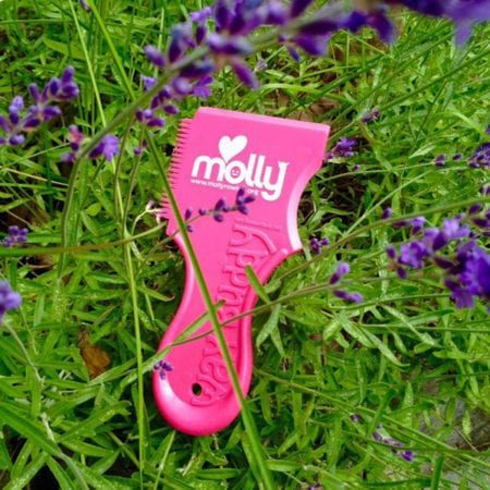 molly cobranded wax comb